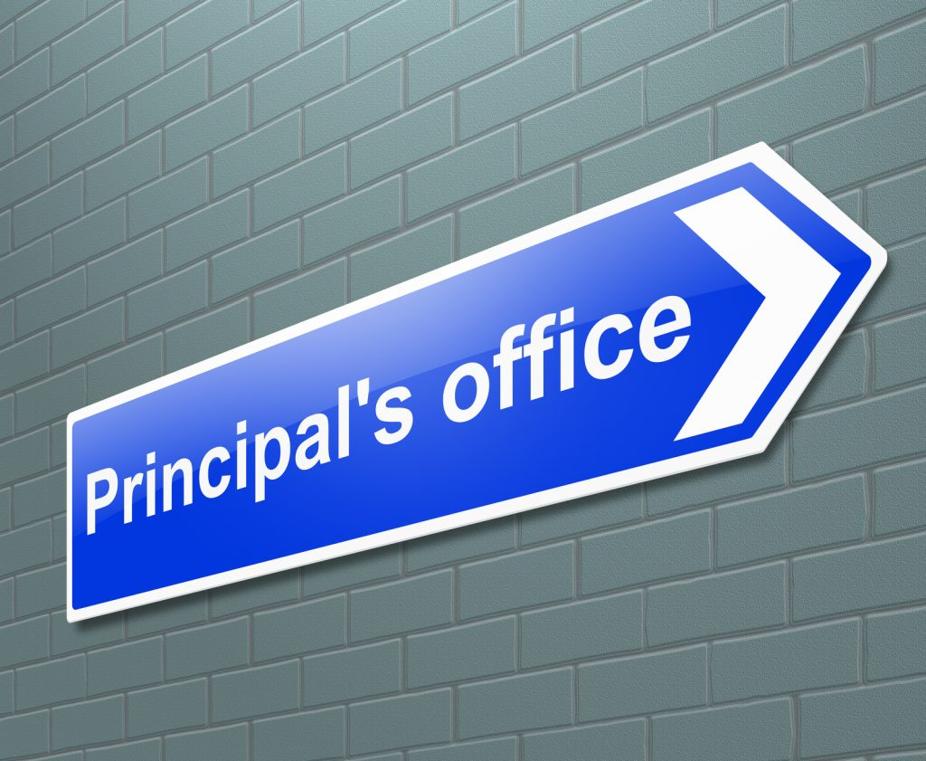 Principal's Office Sign--How to lead your school remotely
