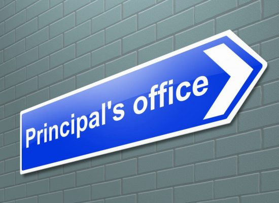 Principal's Office Sign - How to lead your school remotely.