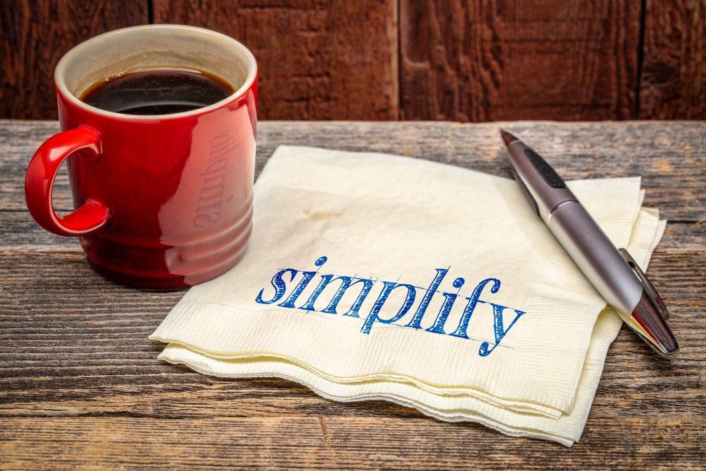 Simplify-essential standards