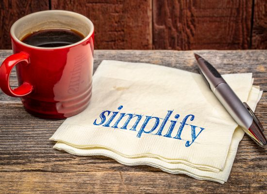 Simplify-essential standards